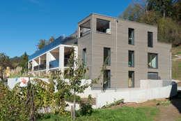 modern Houses by Honegger Architekt AG