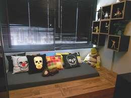 Dormitorios de estilo  por DIÂMETRO INTERIOR DESIGN
