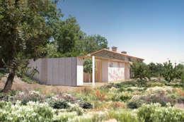 Casa Extremadura: Casas de estilo rural de Estudio de Arquitectura Teresa Sapey