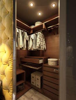 غرفة الملابس تنفيذ MONTE FEE INTERIOR DESIGN STUDIO