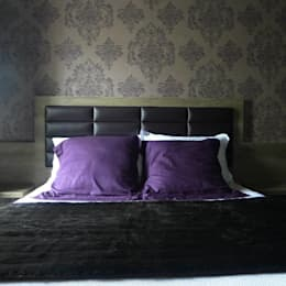 Tête de lit: Chambre de style de style Moderne par EN Intérieur