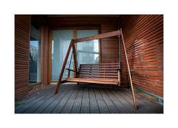 Balcones y terrazas de estilo minimalista por Meble Gdańskie - Zbigniew Żurawski