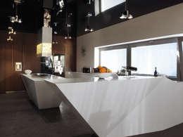 DOM ZI: styl , w kategorii Kuchnia zaprojektowany przez MACIEJ JANECZEK ARCHITEKT