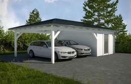 Nhà để xe tiền chế by Ogrodolandia