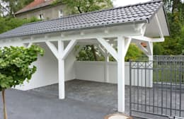 Garages prefabricados de estilo  por Ogrodolandia