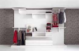 Livarea: modern tarz Giyinme Odası