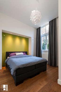 Slaapkamer: moderne Slaapkamer door Studio D11