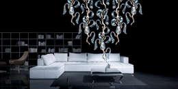 Salon de style de style eclectique par CasaNora