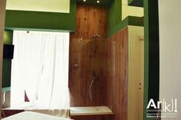 industrial Bedroom by arkfattoriale