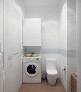 scandinavian Bathroom by Ekaterina Donde Design