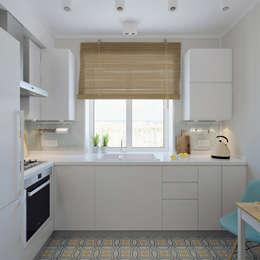 مطبخ تنفيذ Ekaterina Donde Design
