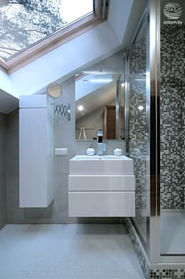 ENERGOHOUSE: Ванные комнаты в . Автор – ZROBYM architects