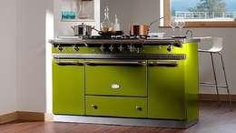 Cocinas de estilo industrial por Gamahogar