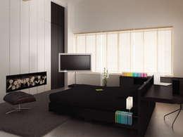 Loft L 01: Chambre de style de style Moderne par 2&1