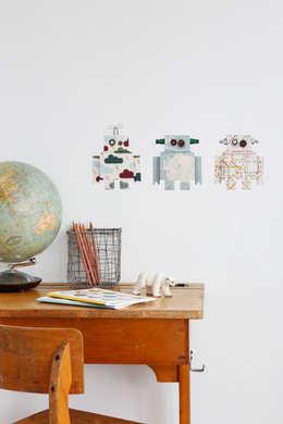 Hippe jongenskamer van Studio Ditte: industriële Kinderkamer door Felientje