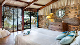 Mario Marino: rustik tarz tarz Yatak Odası