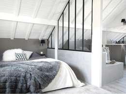 Projekty,  Sypialnia zaprojektowane przez RencontreUnArchi