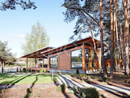 NEWOOD - Современные деревянные дома: iskandinav tarz tarz Evler
