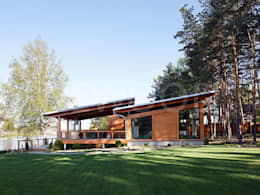 Rumah by NEWOOD - Современные деревянные дома