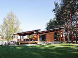scandinavian Houses by NEWOOD - Современные деревянные дома