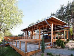 Teras by NEWOOD - Современные деревянные дома