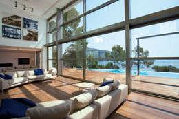 Salas de estar modernas por Alibaz Inversiones