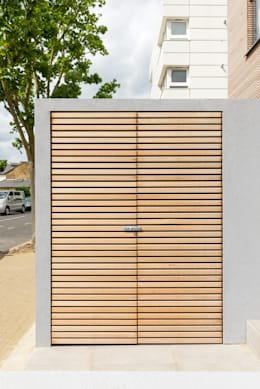 Utility cupboard: modern Garage/shed by The Chase Architecture