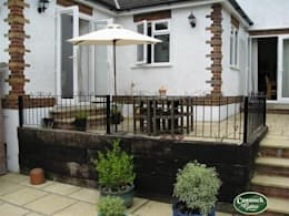 Jardines de estilo clásico por Cannock Gates Ltd