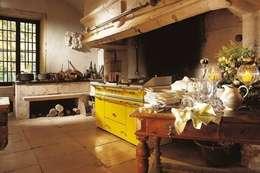 Cocinas de estilo rural por Gamahogar