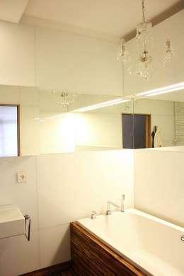 KRÓLOWA SNIEGU: styl , w kategorii Łazienka zaprojektowany przez Prusakowska Libera