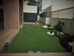 Area de Alberca: Jardines de estilo minimalista por InGarden