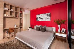 Projekty,  Sypialnia zaprojektowane przez GLR Arquitectos
