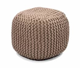 Natural Fibres Knitted Poufs: asian Living room by Natural Fibres Export