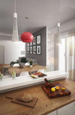 Beniamino Faliti Architetto: modern tarz Mutfak