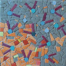 Motif réseaux: Murs de style  par Lechevallier stephanie