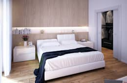 modern Bedroom by Beniamino Faliti Architetto