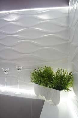 Baños de estilo moderno por Anna Wrona