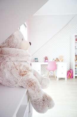 Dom jednorodzinny, Sokółka: styl , w kategorii Pokój dziecięcy zaprojektowany przez Anna Wrona