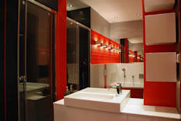 Baños de estilo moderno por ARCHINSIDE STUDIO KATARZYNA PARZYMIES