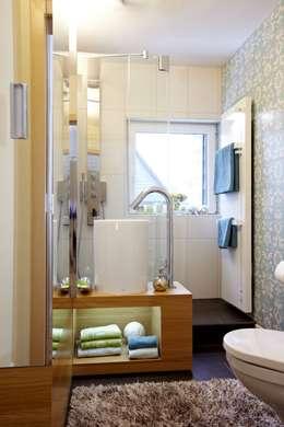 eclectische Badkamer door Stammer Innenarchitektur
