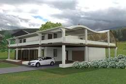 Casas de estilo moderno por Kay Studio