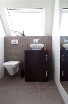 badkamer: moderne Badkamer door ontwerpplek, interieurarchitectuur