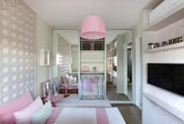 modern Nursery/kid's room by SESSO & DALANEZI