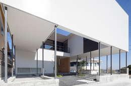modern Houses by 松本匡弘建築設計事務所