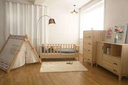 변형이 가능한 아동가구 끌렘 입니다.: 끌렘(KKLEM)의  아이 방