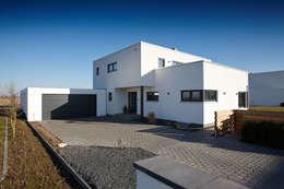 Плоские крыши в . Автор – FingerHaus GmbH