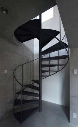CYY: かわつひろし建築工房が手掛けた廊下 & 玄関です。