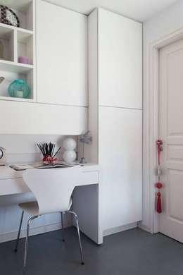 minimalistische Arbeitszimmer von MINBAI