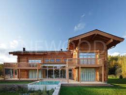 classic Houses by NEWOOD - Современные деревянные дома