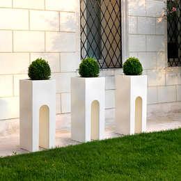 Jardines de estilo moderno por TerraForm